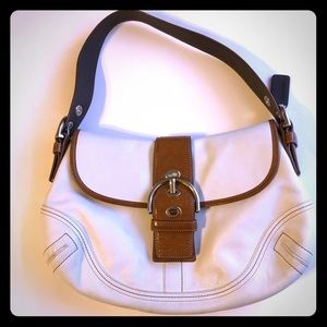 Coach Soho Flap Leather Bag
